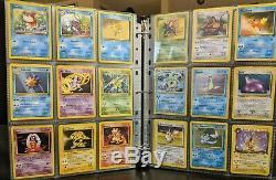 151 Complete Pokemon Set Original Classic Cards Base Fossil Jungle Set HP