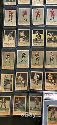 1951-52 parkhurst Complete set minus (1) card