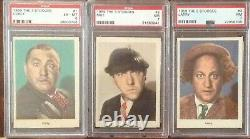 1959 The Three Stooges Complete set of 96 cards (PSA)