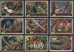 1962 Topps Mars Attacks VGEX avg complete lowithmid grade 55 card set 61648