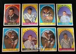1968 NRL Scanlens Near Complete Set 42/44 Cards RL Gasnier Langlands 1968A 1968B