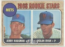 1968 Topps Baseball Cards Full Complete Set Mantle Ryan Bench 1-598 Rookie Card