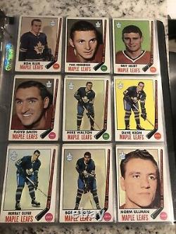 1969-70 1969 Topps Hockey Complete Set Ex-vg Nice Looking 132 Cards Bobby Orr