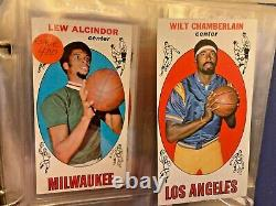 1969-70 Topps Basketball Complete Set of 99 Includes Lew Alcindor Rookie Card