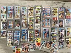 1969 Topps Baseball Mid-Grade EX Complete Set Of 660 & 653 Extra 1969 Cards PSA