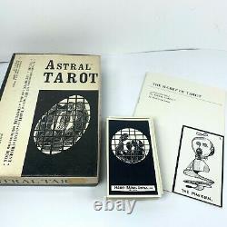 1969 Vintage Astral Tarot Deck 78 Cards Box Set with Booklet VTG Complete VG