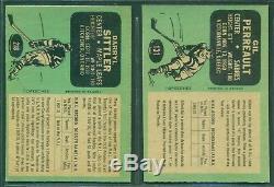 1970 71 Opc Hockey Card Complete Set 1-264 Near Mint-mint