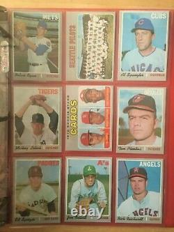 1970 Topps Baseball Complete Set 720 Cards Ex++ To Nm Grade