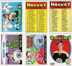 1971 72 OPC O-Pee-Chee complete set 264 cards ex to ex-mt Dryden Lafleur Rookie