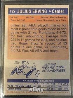 1972-73 TOPPS Complete Set! Julius Erving HOF RC! ROOKIE CARD ESTATE FIND! NR