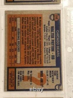 1976 Topps Football Complete Set MT+ to NM Walter Payton Rookie Card