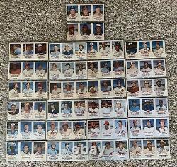 1977 Hostess Vintage Baseball Complete Panel set 150 Card Hand Cut