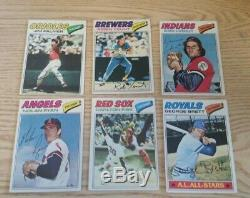 1977 Topps Baseball COMPLETE (660 Card) Set withMurphy Sutter RCs+