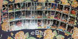 1978,79,81,86,87,88,89 Basket Ball Card Complete Sets Missing MJ Rc