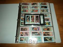 1980-81 Topps Basketball Complete Set (176 Cards) Graded Bird / Magic Rookie Rc