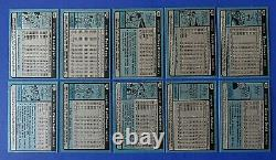 1980 TOPPS BASEBALL COMPLETE SET 600 Cards Ricky Henderson NM/MT to MINT Rookie