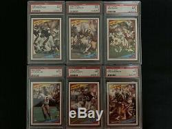 1984 Topps Football Complete Set w 41 PSA 9 Cards Marino Elway Dickerson Green