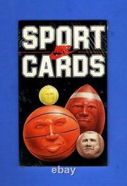 1985 Nike Promo Sports Cards Factory Sealed Complete Set Michael Jordan Rc