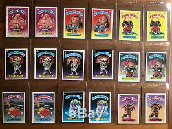 1985 TOPPS Garbage Pail Kids OS Series 1 Complete Glossy Set 88 Cards MINT FRESH