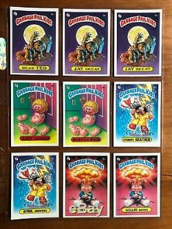 1985 TOPPS Garbage Pail Kids OS1 Series Complete Glossy Set 88 Cards MINT FRESH