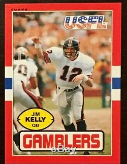 1985 Topps Football USFL Complete Factory Set 132 Cards. In original factory box
