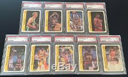1986-87 Fleer Complete Card & Sticker Sets Psa 9 & 10 Michael Jordan Psa 9 Mint
