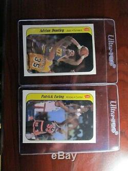 1986-87 Fleer Michael Jordan PSA 8 NM-MT Sticker / Complete 11 card Set! Sharp
