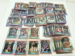 1986 Fleer NBA Basketball Card Complete Set No Jordan 131/132 Nm-Mt+