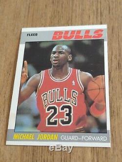 1987-88 Fleer Nba Complete Set Of 132 Cards With Michael Jordan Read Details