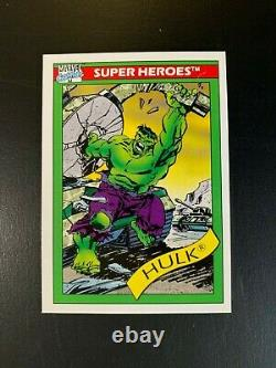 1990 Marvel Universe Series 1 Complete Base Set 162 Cards Fine Set See Pictures