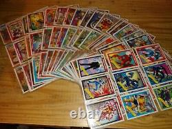 1990 Marvel Universe Series 1 Trading Cards COMPLETE SET, #1-162