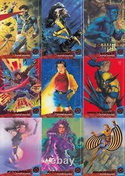 1992, 1993, 1994, 1995 Marvel X-MEN Complete Card Sets! (4 sets) DEADPOOL