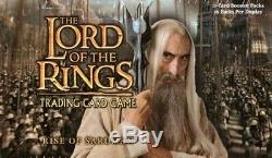 1DECIPHER LOTR Lord of the Rings TCG RISE OF SARUMAN COMPLETE 140-Card SET