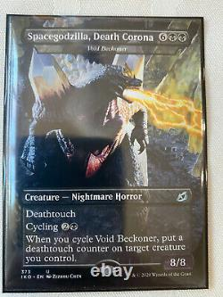 1x COMPLETE SET (19) GODZILLA Magic Cards MT/NM MTG Double-Sleeved Incl JP Promo