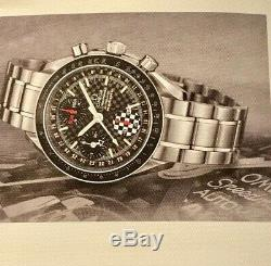 2002 Omega Schumacher Speedmaster Reduced Complete Boxed Set withcards Excellent