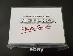 2003 NetPro Complete Photo Card Set Federer Nadal Serena RC Sealed