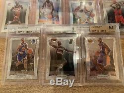 2012-13 Prizm Complete 300 Card Set With BGS 9 + 9.5 Lebron AD Kawhi Dame RC +More