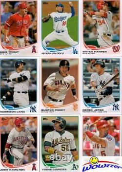 2013 Topps Baseball 666 Card Complete Factory Set-2 Mike Trout+EXCLUSIVE PATCH