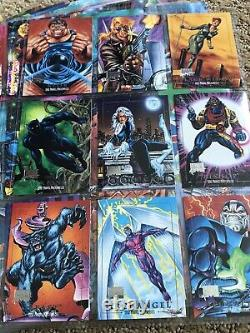 2016 Marvel Masterpieces COMPLETE 1992 Joe Jusko Buyback Set (99 Cards) NM/M