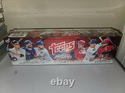 2018 Topps Baseball Complete Sealed Hobby Factory Set 5 Foil Cards Acuna Rc