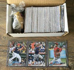 2018 Topps Update Baseball complete 300 card set Juan Soto Ronald Acuna rookie