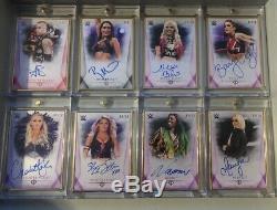2019 WWE Topps Transcendent Complete Set 50 Autograph Set, 1/1, Kiss Card, Belt