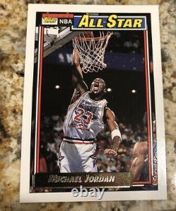92-93 Topps GOLD NBA Complete Set + 7 Beam Team Cards RARE Shaq RC Jordan, Magic