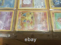 Almost complete pokemon card base set with charizard Good Condition