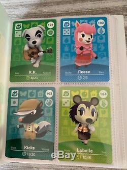 Animal Crossing Series 2 COMPLETE SET Amiibo 100 Cards Lot NA (USA) #101-200