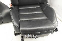 Audi A4 S4 B6 B7 Cabrio Convertible Black Leather Complete Interior Set Seats
