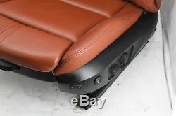 BMW M3 E92 Novillo Fox Red Leather Complete Interior Seats Memory Adaptive