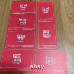 BTS V taehyung KAYO NENKA on stage JAPAN OFFICIAL MINI PHOTO CARD Complete set a