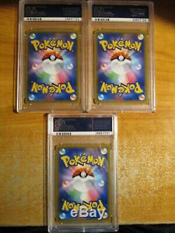COMPLETE Japanese PSA-10 Pokemon CP6 HOLO Card 20TH ANNIVERSARY Set Charizard 11