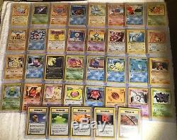 Complete 1st Edition Neo Revelation 37 Card Common/Uncommon Pokemon Set NM
